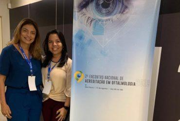Julia Herrera participa do 2º Encontro Nacional de Acreditação em Oftalmologia